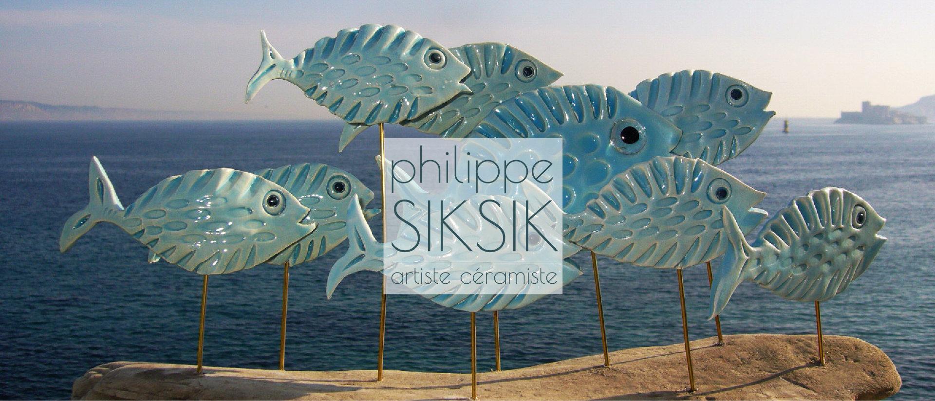 Philippe Siksik artiste ceramiste